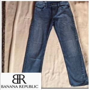 Banana republic straight jeans